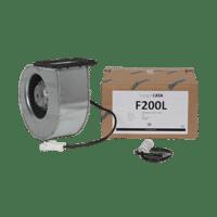 Puhallinpakkaus F200 L-mallin tulo / poisto