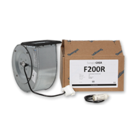 Puhallinpakkaus F200 R-mallin tulo / poisto