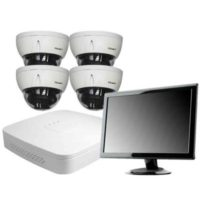 Kamerapaketti Colibri 4-kanavainen IP-kameravalvonta
